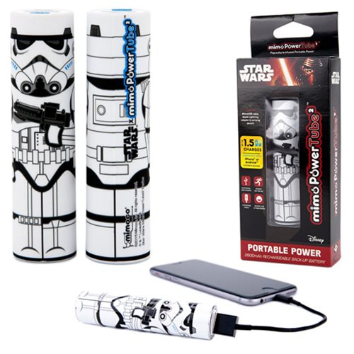 Star Wars Stormtrooper Mimopowertube 2 Portable Charger
