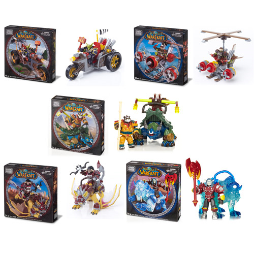 Mega Bloks World of Warcraft Mount Series 2 Case