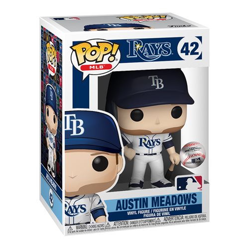 MLB Rays Austin Meadows Pop! Vinyl Figure