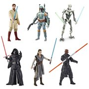 Star Wars Galaxy of Adventure Action Figures Wave 3 Set