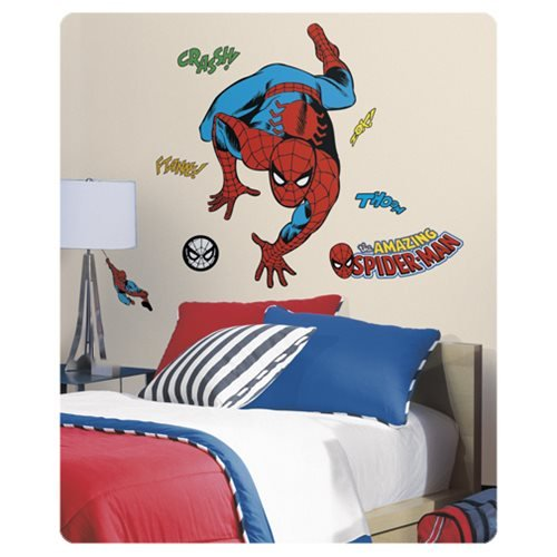 Spider-Man Classic Comic Peel and Stick Wall Decals