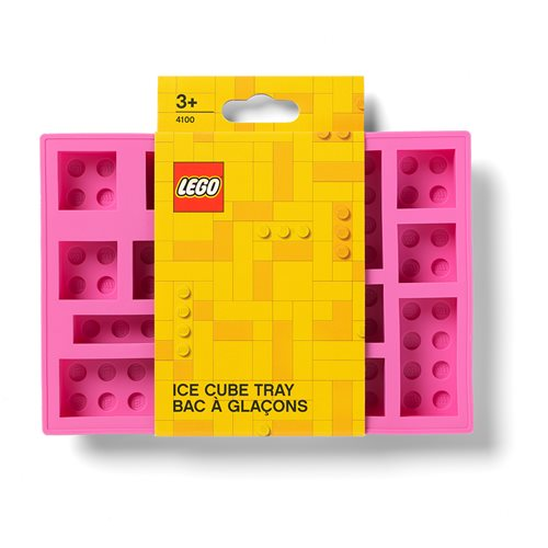 LEGO Pink Ice Cube Tray