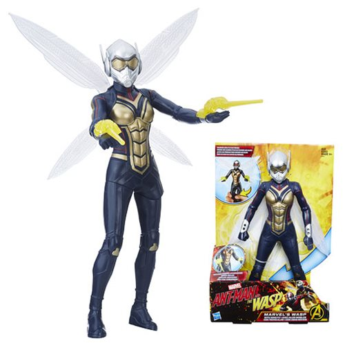 Ant-Man and the Wasp Marvel's Wasp with Wing FX 12-Inch Action Figure