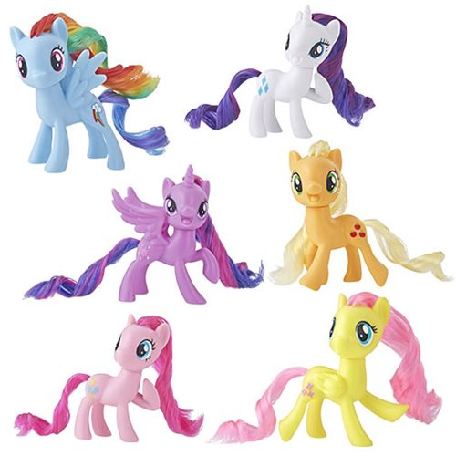 My Little Pony Mane Ponies Wave 1 Set