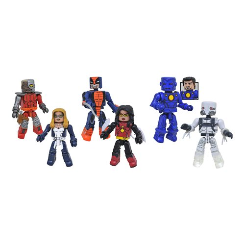 Marvel Minimates Series 80 Mini-Figure Set