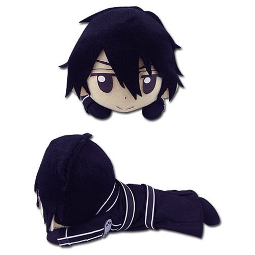 Sword Art Online Kirito Lying Posture 8-Inch Plush