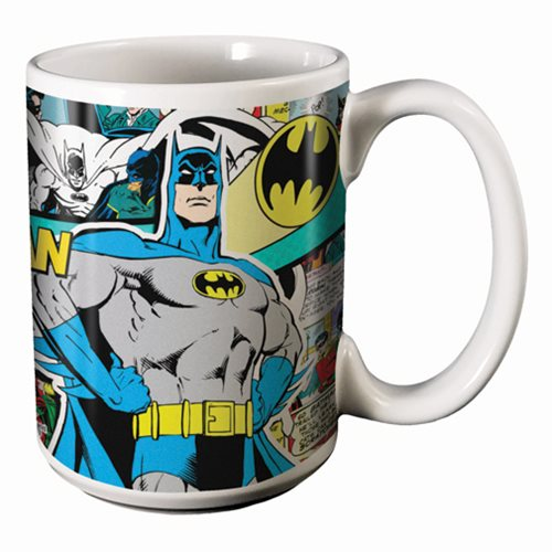 Batman Comics 14 oz. Mug