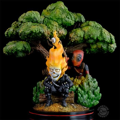 Marvel Deadpool x Ghost Rider Q-Master Statue
