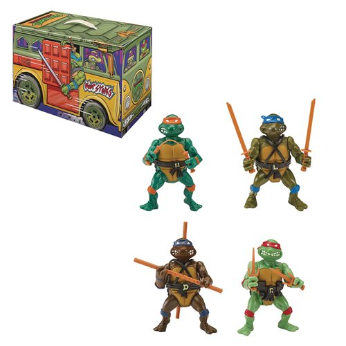 Teenage Mutant Ninja Turtles Retro Rotocast 6-Piece Action Figure Box Set - San Diego Comic-Con 2020 Previews Exclusive