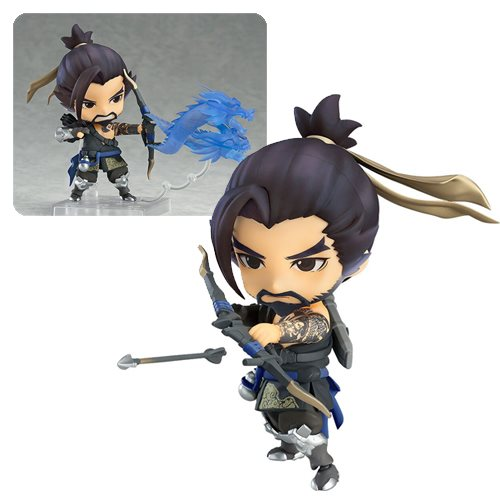 Overwatch Hanzo Classic Skin Edition Nendoroid Action Figure