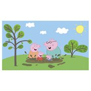 Peppa the Pig XL Chair Rail Prepasted Mural