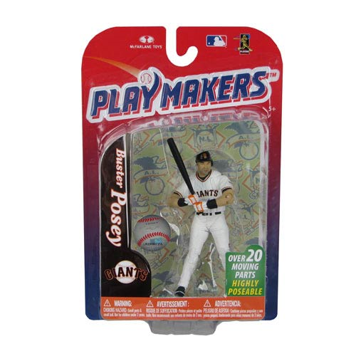MLB Playmakers Series 4 Buster Posey Action Figure