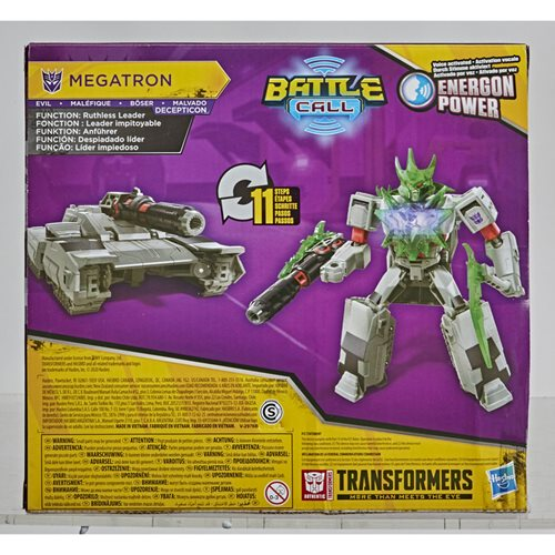 Transformers Cyberverse Adventures Battle Call Trooper Megatron