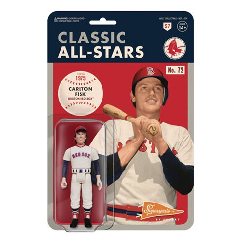 Major League Baseball Classic Carlton Fisk (Boston Red Sox) ReAction Figure