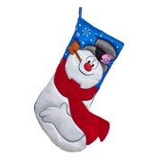 Frosty the Snowman 19-Inch Applique Stocking