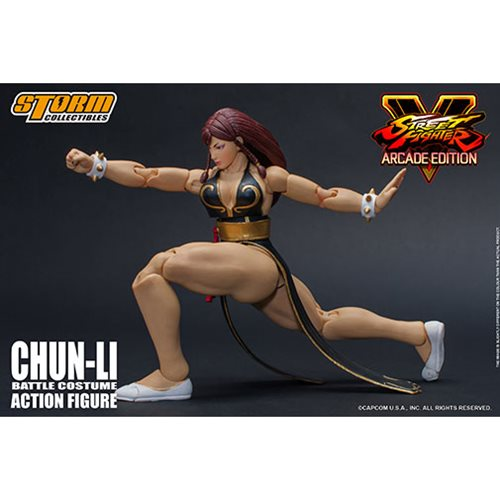 Street Fighter V Hot Chun-Li 1:12 Action Figure - 2018 Event Exclusive