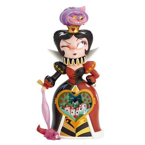 Disney The World of Miss Mindy Alice in Wonderland Queen of Hearts Statue