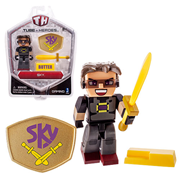 Tube Heroes Sky with Accessory 2 3/4-Inch Action Figure