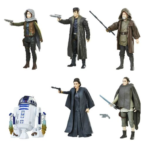 Star Wars: The Last Jedi Orange 3 3/4-Inch Action Figures Wave 2 Case