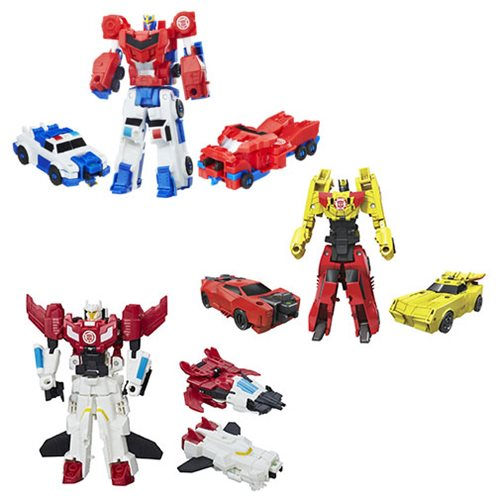 Transformers Robots in Disguise Crash Combiners Wave 2 Case