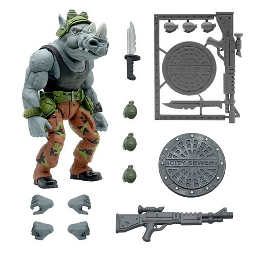 TMNT Ultimates Rocksteady 7-Inch Action Figure