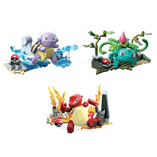 Mega Construx Pokemon Evolution Building Set Case