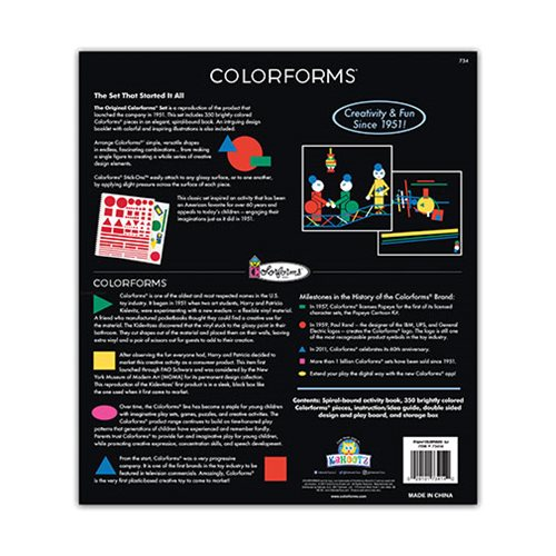 Colorforms Original Classic Set