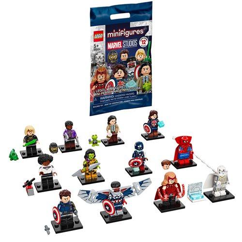 LEGO 71031 Marvel Studios Mini-Figure Display Tray of 36