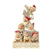 Disney Traditions White Woodland Seven Dwarfs Statue
