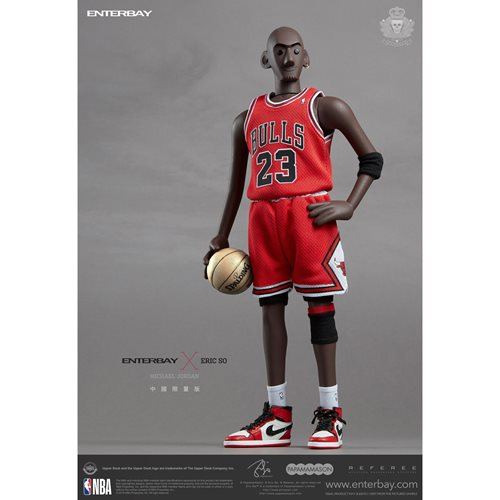 Enterbay x Eric So Michael Jordan Chicago Bulls Home Jersey 1:6 Scale Action Figure