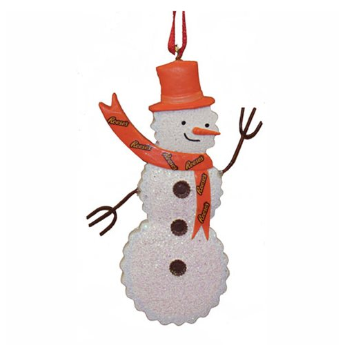 Reese's Snowman 3-Inch Resin Ornament