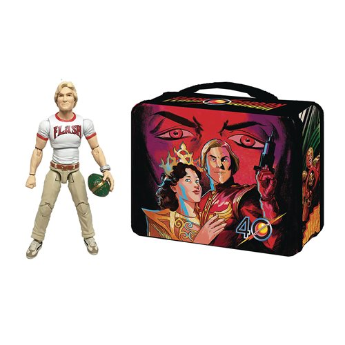 Flash Gordon Movie Flash Gordon Hero H.A.C.K.S. Figure with Lunchbox