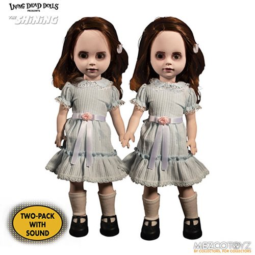 LDD Presents The Shining Grady Twins Talking Dolls