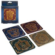 Harry Potter Hogwarts Crest Coasters 4-Pack