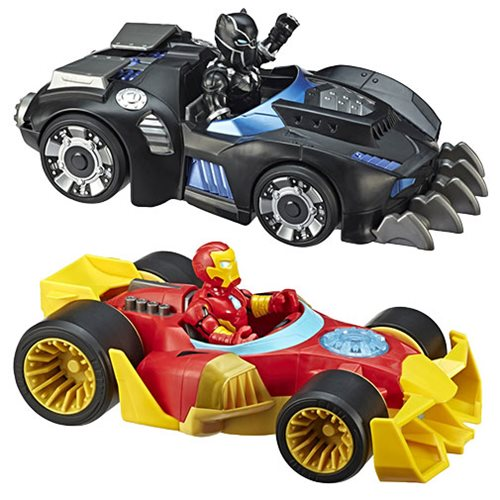 Marvel Super Hero Adventures Figure and Vehicles Wave 1