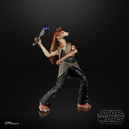 Star Wars The Black Series Deluxe Jar Jar Binks 6-Inch Action Figure