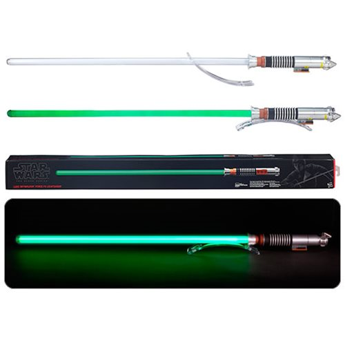 Star Wars Luke Skywalker Force FX Lightsaber Prop Replica