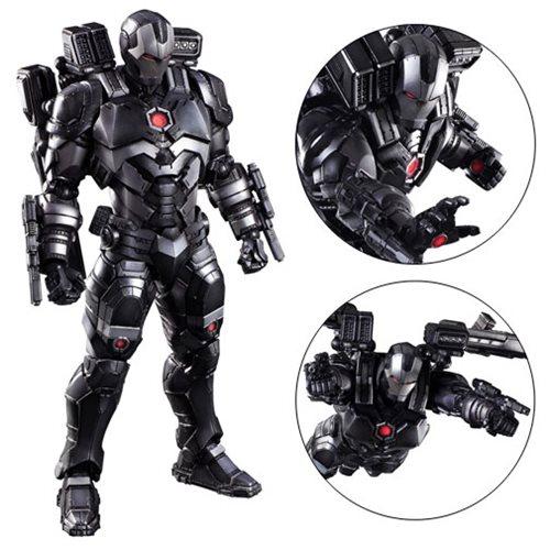 marvel universe war machine variant play arts kai action