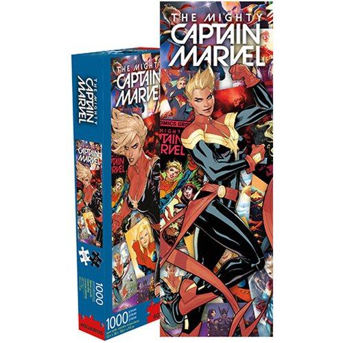 Captain Marvel Comic Collage 1000-Piece Puzzle