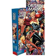 Captain Marvel Comic Collage 1000-Piece Puzzle
