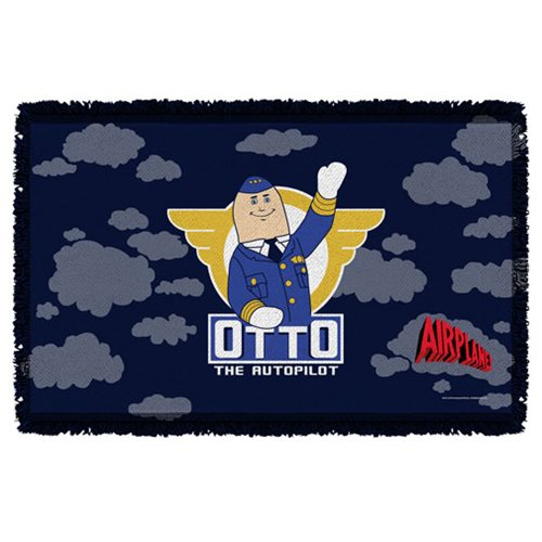 Airplane Otto Woven Tapestry Throw Blanket