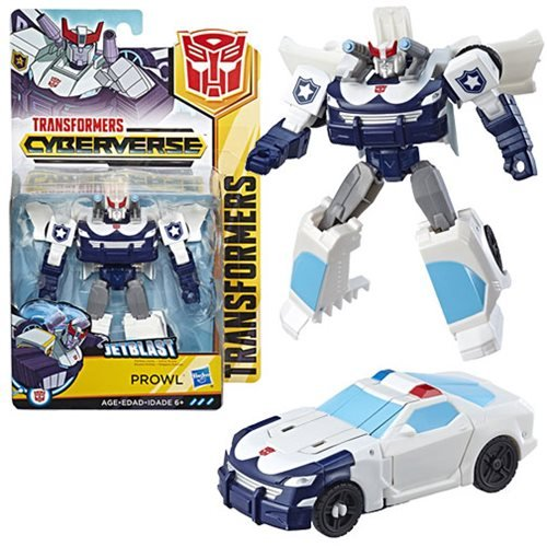 Transformers Cyberverse Action Attackers Warrior Class Prowl