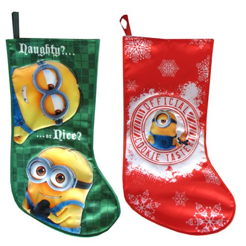 Despicable Me Minions 13-Inch Printed Stocking Set