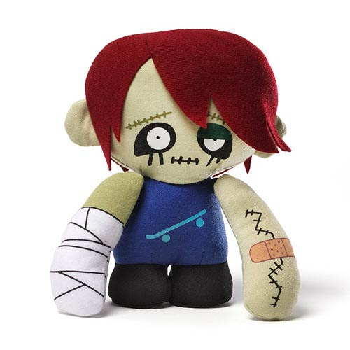 Skateboarder Zombie Plush