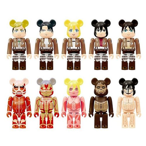 Attack on Titan 100% Bearbrick Key Chain Case