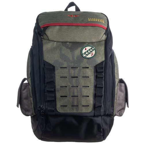 Star Wars Boba Fett Top-Zip Built-up Backpack