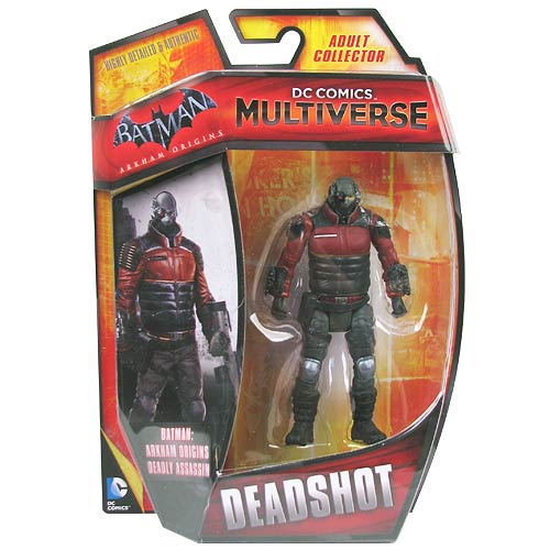 DC Comics Multiverse Deadshot Batman Arkham Origins 4-Inch Action Figure