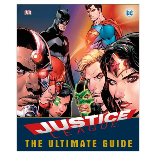 DC Comics Justice League The Ultimate Guide Superheroes Hardcover Book