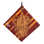 Harry Potter Gryffindor Crest StarFire Prints Hanging Glass Ornament