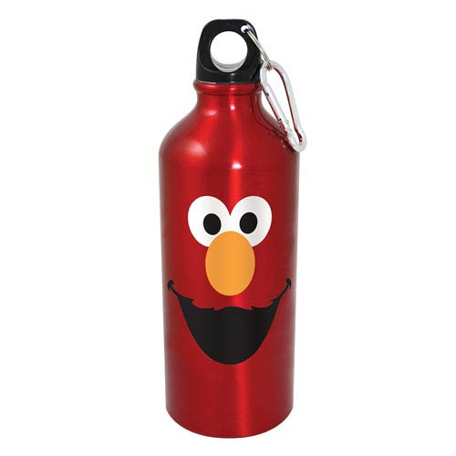 Sesame Street Elmo Big Face Aluminum Water Bottle